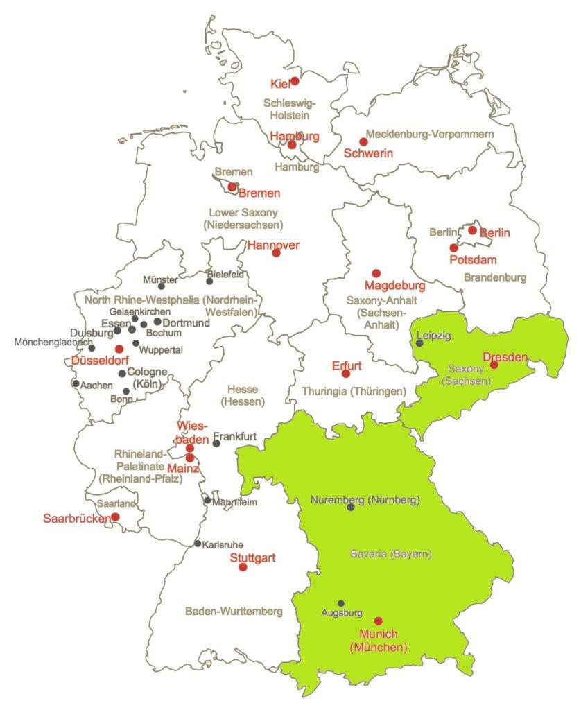 práce v německu u hranic