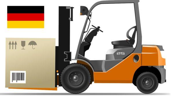 řidič VZV v německu