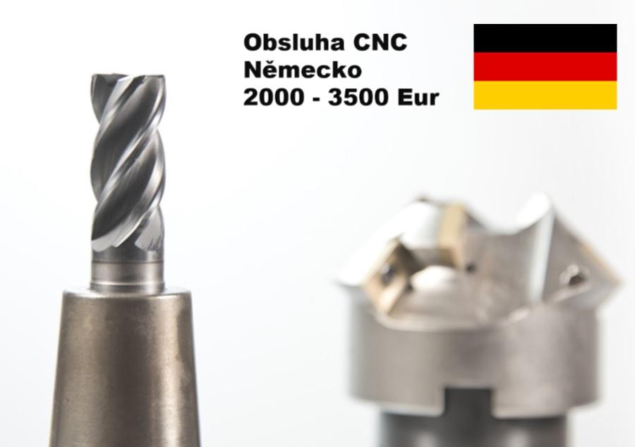 obsluha CNC německo