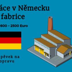 Práce v německu ve fabrice