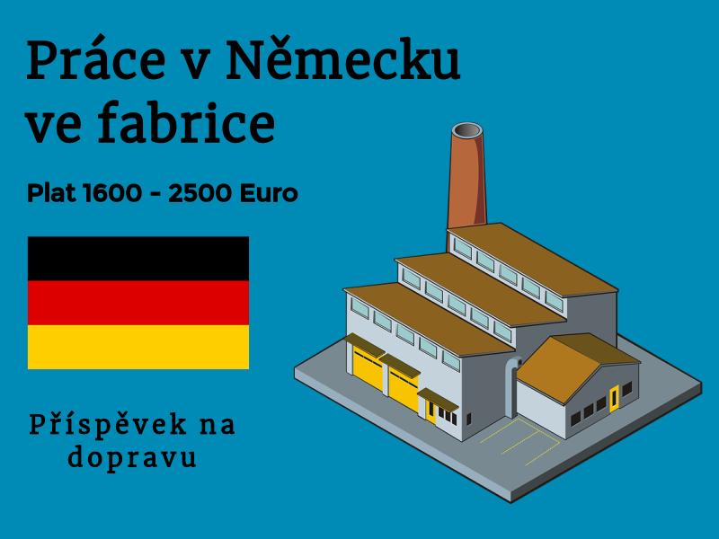 Práce v německu fabrika