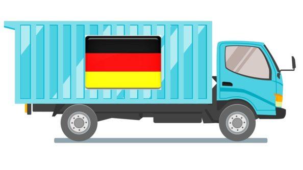 řidič kamionu německo
